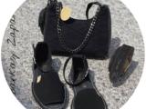 AB.Zapatos · 966 · Negro+AB.Z · Pelle · 21-19 (370) negro+Ab.Zapatos Pelle cinturon (140) negro — АКЦИЯ