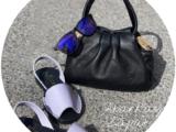 Ab.Zapatos 320-8 Lila+PELLE · LUX negro+Shark & Blue